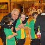 Karl Pivec herzt Stefan und Flo, Wolfgang analysiert mit Leo