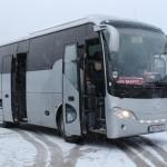 Der Mannschaftsbus