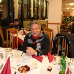 Tormanntrainer Gerhard Horvath erfreut über das durchwegs gute Essen